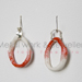 Porcelain Earring red