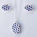Porcelain Dot Pendant / Earring